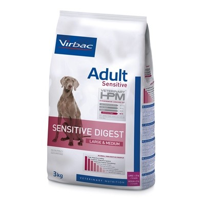 ADULT SENSITIVE DIGEST DOG LARGE & MEDIUM 12 KG