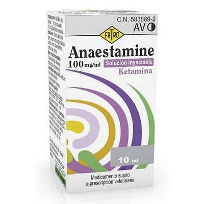 ANAESTAMINE 100 MG ML 10 ML SOL. INY.