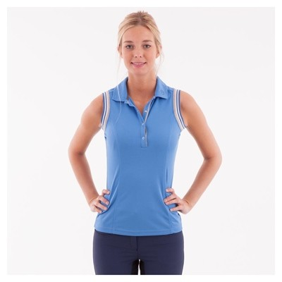 ANKY POLO SIN MANGAS MUJER HEAVENLY BLUE S