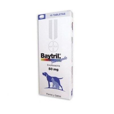 BAYTRIL 50 MG  10 COMP.""