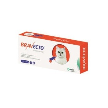 BRAVECTO GATO SPOT ON 250 MG  2.8   6.25 KG  1 COMP.