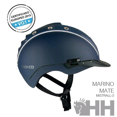 CASCO CAS CO MISTRALL 2 MARINO MATE CASCO DECOR XS S (50 54)