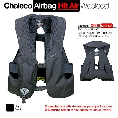 CHALECO AIRBAG HIT AIR NIÑO