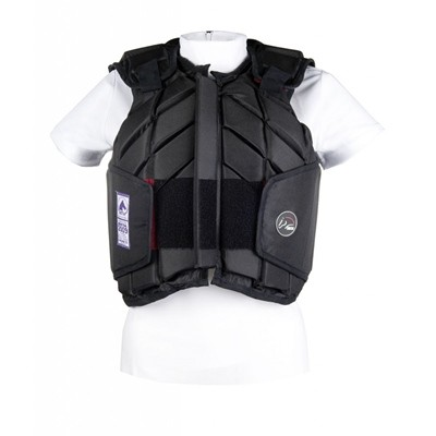 CHALECO DE SEGURIDAD EASY FIT 9100 NEGRO NIÑO XL