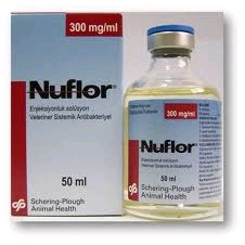 NUFLOR INYECTABLE 50 ML.