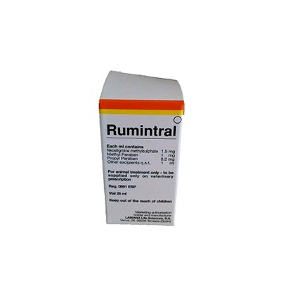RUMINTRAL 25 ML SOL. INY.