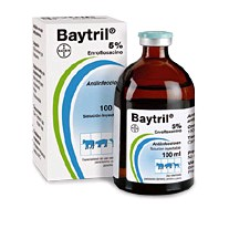 BAYTRIL 5 % 100 ML.