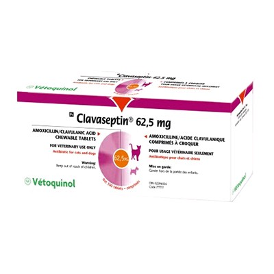 CLAVASEPTIN 62.5 MG  100 COMP.