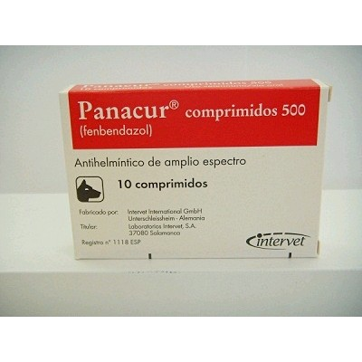 PANACUR 500 MG (10 COMPRIMIDOS)