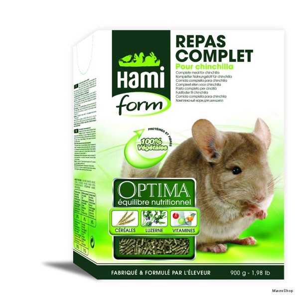 HF OPTIMA CHINCHILLA 900 GR