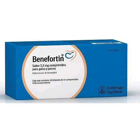 BENEFORTIN 2,5 MG 140 COMP.