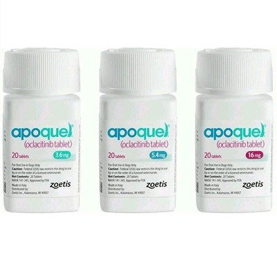 APOQUEL 16 MG 2 BL 20 COMP