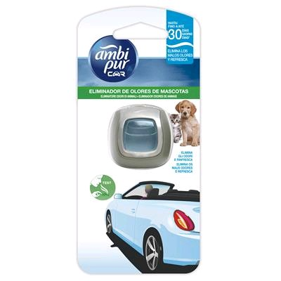 AMBIPUR CAR DESECHABLE PET CARE 2 ML (AMBIENTADOR DE COCHE)