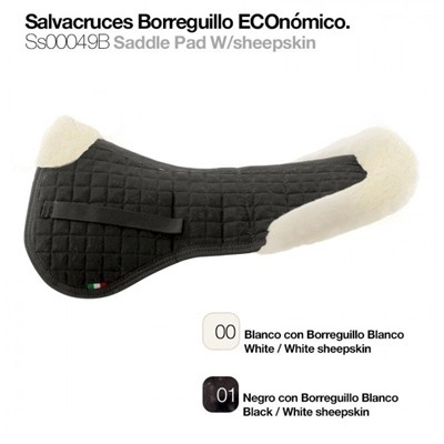 SALVACRUCES BORREGUILLO ECO SS00049B NEGRO