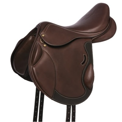SILLA DE CROSS ERIC THOMAS FITTER FORRADA HAVANA 17""