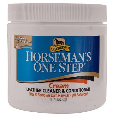 ABSORBINE CREMA DE CUERO HORSEMANS ONE STEP 425 GRS