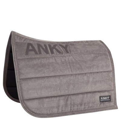 ANKY MANTILLA DRESSAGE VELVET XB17007 FULL ANTHRACITE