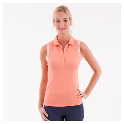 ANKY POLO SIN MANGAS MUJER CORAL S