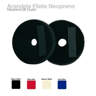 ARANDELA FILETE NEOPRENO 244192 (PAR) NEGRO