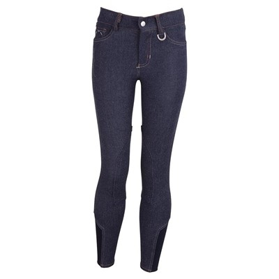 BREECHES BR MARLEY NIÑO RODILLERAS BLUE DENIM 146 CM