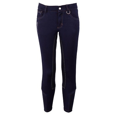 BREECHES BR MARLEY NIÑO RODILLERAS BLUE DENIM 158 CM