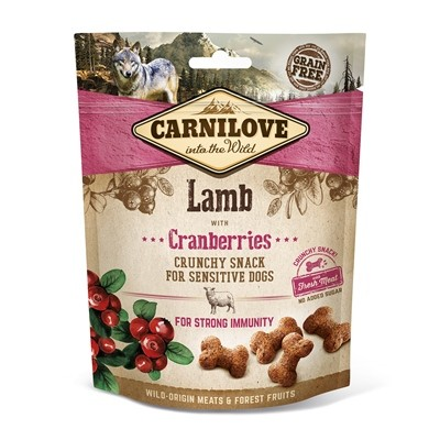 CARNILOVE CRUNCHY SNACK LAMB & CRANBE 200 G