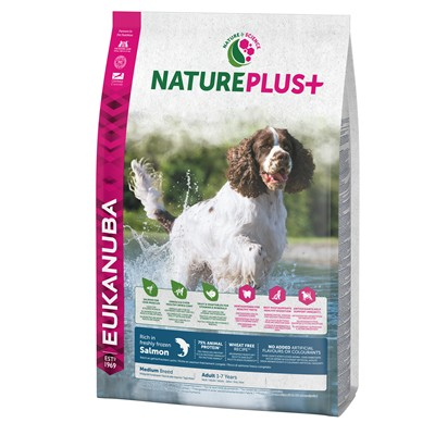 EUK PERRO NATURE   ADULTO RAZA MEDIANA SALMON 2.3 KG