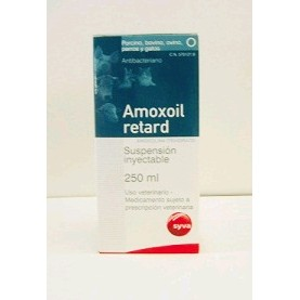 AMOXOIL RETARD 250 ML.