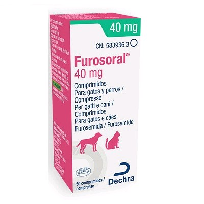 FUROSORAL 40 MG 50 COMP.