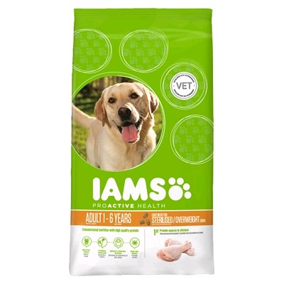 IAMS PERRO ADULTO LIGHT 12 KG.