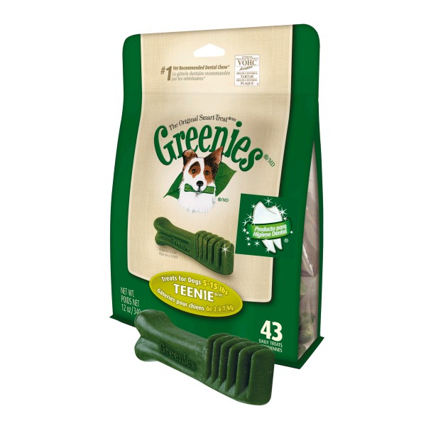 GREENIES PACK 340 GR. TEENIE 43 UNDS.