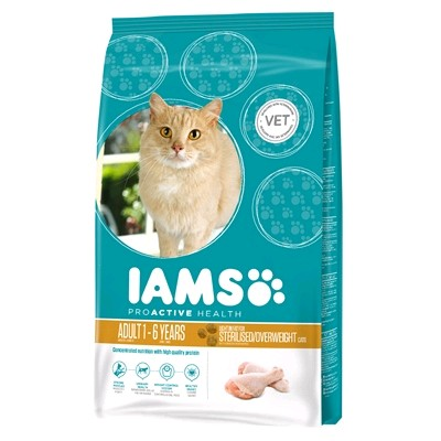 IAMS GATO LIGHT 2.55 KG.
