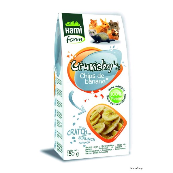 HF CRUNCHYS CHIPS PLATANO 150 GRS.