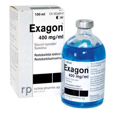 EXAGON 400 MG ML 100 ML INY.