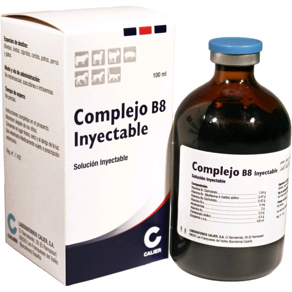 COMPLEJO B 8 INY. 100 ML