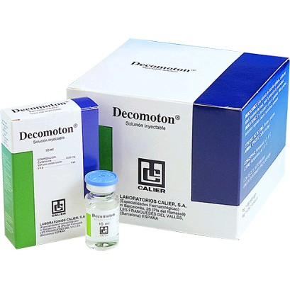 DECOMOTON  INY 10 ML