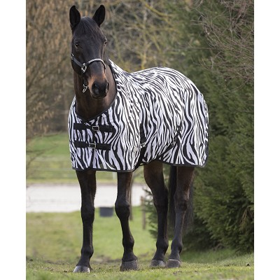 MANTA DE RED EQUI THEME ZEBRA 175 CM