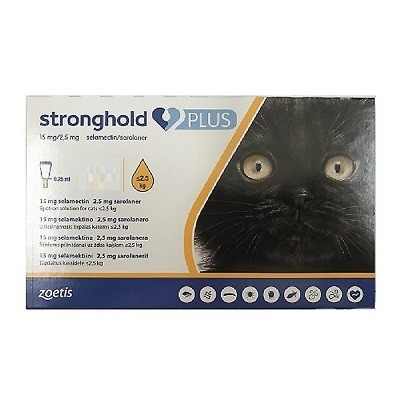 STRONGHOLD PLUS GATO 15 2.5 MG < 2.5 KG 3 PIP
